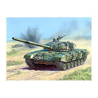 Модель танка Т-72Б с активной броней (1:35)