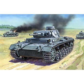 Модель немецкого танка Т-III (F) (1:35)
