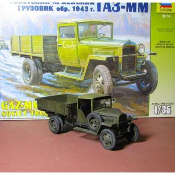 Модель грузовика ГАЗ-ММ (1:35)