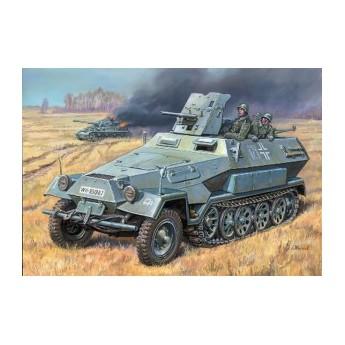 Модель БТР Ханомаг с пушкой (1:35)