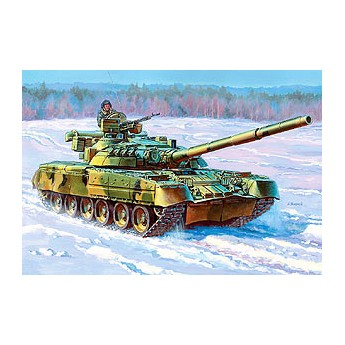 Модель танка Т-80УД (1:35)