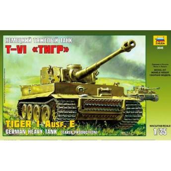 Модель танка Pz.Kpfw.VI Tiger (1:35)