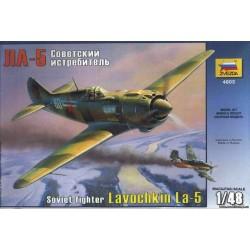 Модель самолета Ла-5 (1:48)