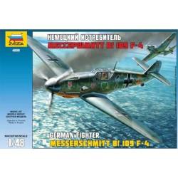 Модель самолета Messerschmitt Bf109 F-4 (1:48)