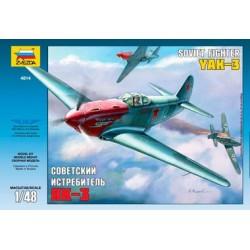 Модель самолета Як-3 (1:48)