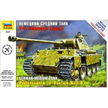 Модель танка Pz.Kpfw.V Panther (1:72)