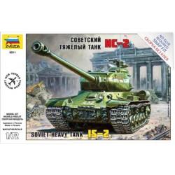 Модель танка ИС-2 (1:72)