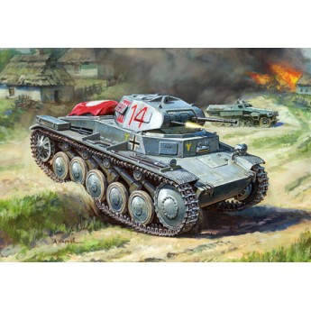 Модель танка Т-II (1:100)