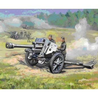 Модель немецкой 105-мм гаубицы (1:72)