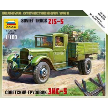 Модель советского грузовика ЗиС-5 (1:100)