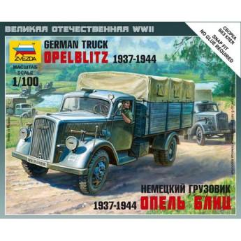 """Модель немецкого грузовика """"Опель Блиц"""" (1:100)"""