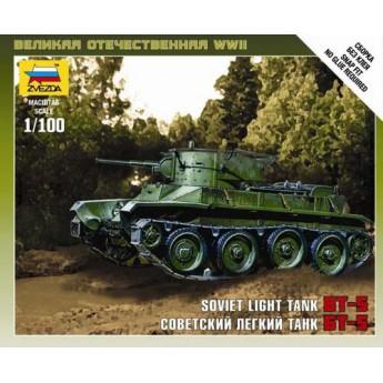 Модель танка БТ-5 (1:100)