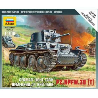 Модель танка Pz.Kpfw.38(t) (1:100)