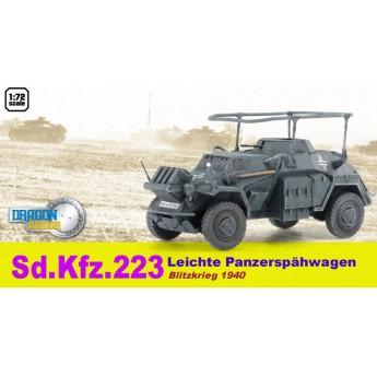 Dragon Armor 60513 Готовая модель бронетранспортера Sd.Kfz.223 серый камуфляж (1:72)