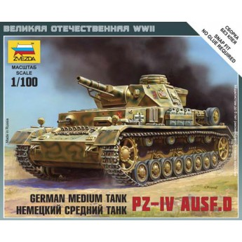 Модель танка Pz.Kpfw.IV (1:100)