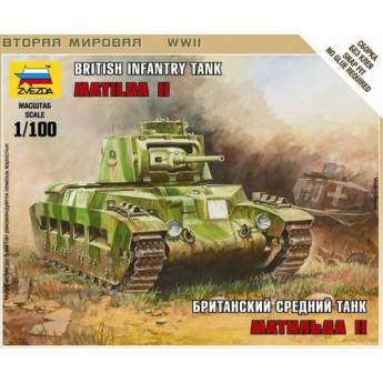 Модель танка Матильда (1:100)