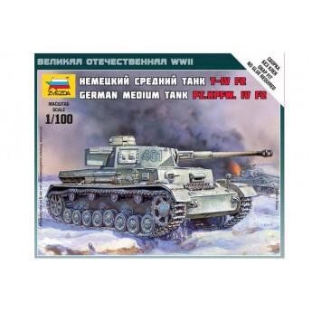 Модель немецкого танка Т-4 F2 (1:100)