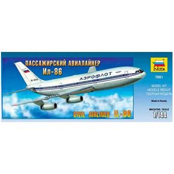 Модель самолета Ил-86 (1:144)