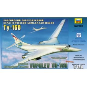 Модель самолета Ту-160 (1:144)