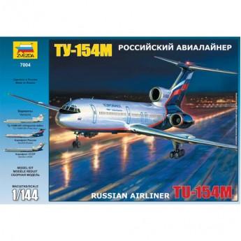 Модель самолета Ту-154 (1:144)