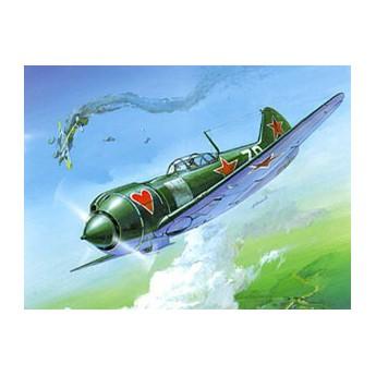 Модель самолета Ла-5ФН (1:72)
