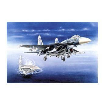 Модель самолета Су-33 (1:72)