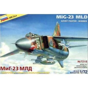 Модель самолета МиГ-23МЛД (1:72)