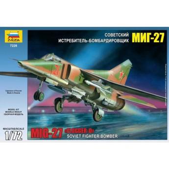 Модель самолета МиГ-27 (1:72)