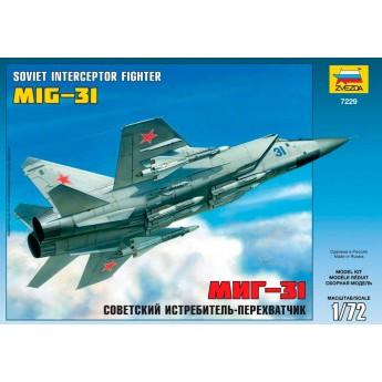 Модель самолета МиГ-31 (1:72)