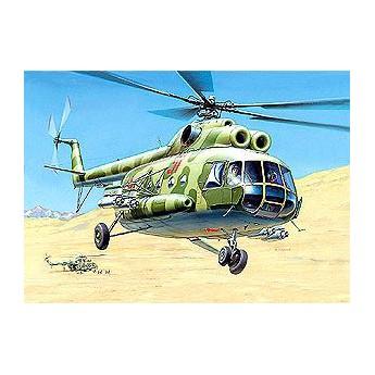 Модель вертолета Ми-8 (1:72)