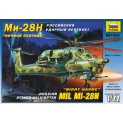 Звезда 7255 Модель вертолета Ми-28Н (1:72)