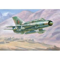 Звезда 7259 Модель самолета МиГ-21БИС (1:72)