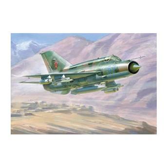 Модель самолета МиГ-21БИС (1:72)