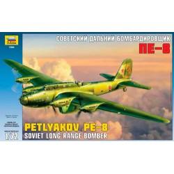 Модель самолета Пе-8 (1:72)