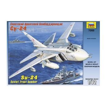Модель самолета Су-24 (1:72)