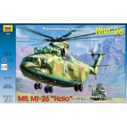 Звезда 7270 Модель вертолета Ми-26 (1:72)