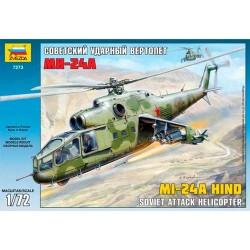 Звезда 7273 Модель вертолета Ми-24А (1:72)