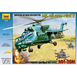 Звезда 7276 Модель вертолета Ми-35М (1:72)