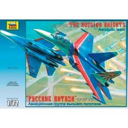 "Модель самолета Су-27УБ ""Русские витязи"" (1:72)"