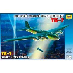 Звезда 7291 Модель самолета ТБ-7 (1:72)