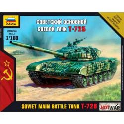 Модель танка Т-72 (1:100)