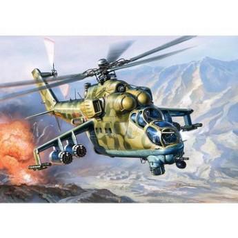 Модель вертолета Ми-24 (1:144)