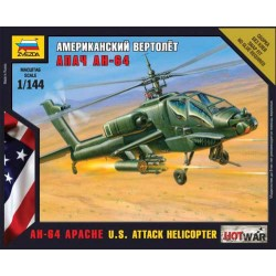 Модель вертолета Апач (1:144)