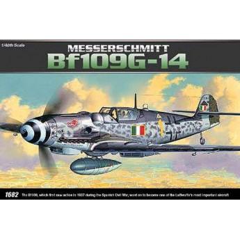 Academy 12256 Сборная модель самолёта Мессершмитт BF-109G-14 (1:48)