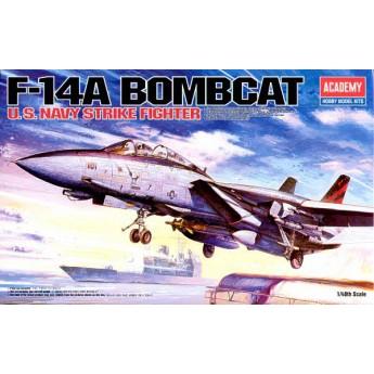 """Academy 12206 Сборная модель самолета F-14 """"Бомбкэт"""" (1:48)"""