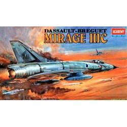 Модель самолета MIRAGE III-C FIGHTER (1:48)