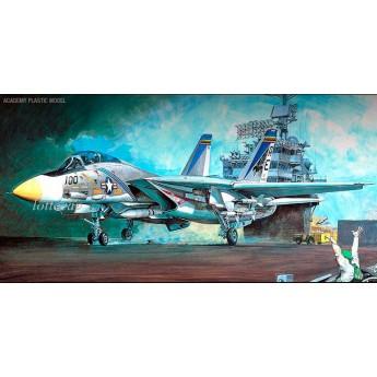 Модель самолёта F-14A Томкэт (1:48)