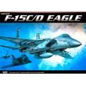 Academy 12257 Сборная модель самолёта F-15C/D EAGLE (1:48)