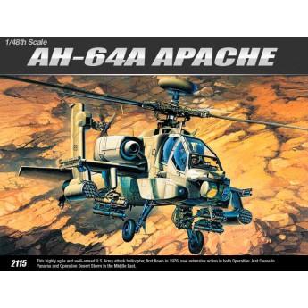 Модель вертолета AH-64A (1:48)