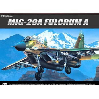 Academy 12263 Сборная модель самолёта МиГ-29А (1:48)